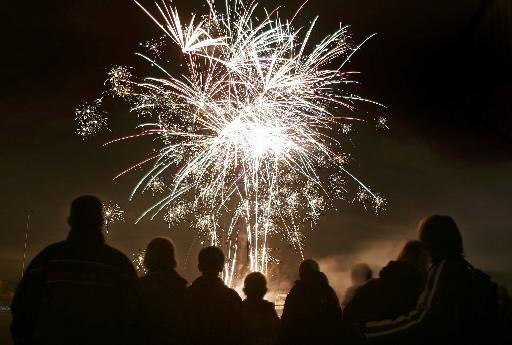 Toch vuurwerk op kermis Alkmaar