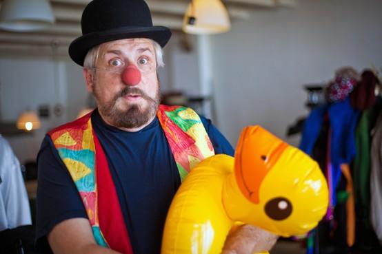 Marcel Overste: 'Een clown word je niet, dat ben je'