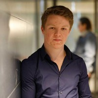 Sven Annen (18), toch geen lijsttrekker.