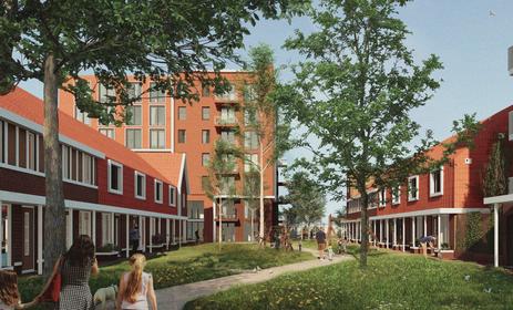 Zo gaat het 'betaalbare wijkje' eruit zien op het oude SIZO-terrein in Hillegom