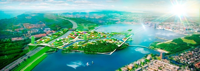 Geen Goois groenpaviljoen bij Floriade 2022