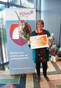 Katwijkse verkozen tot longverpleegkundige van het jaar