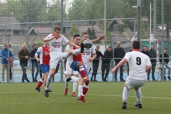 Doelsaldo lijkt beslissend te worden in strijd om kampioenschap