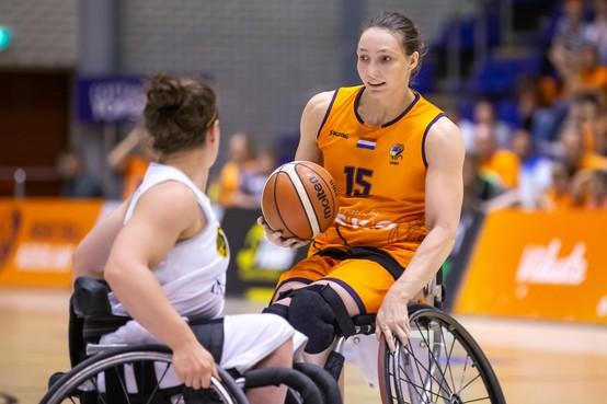 Ticket naar Paralympics Tokio is al binnen voor rolstoelbasketbalteam Oranje met Helderse inbreng