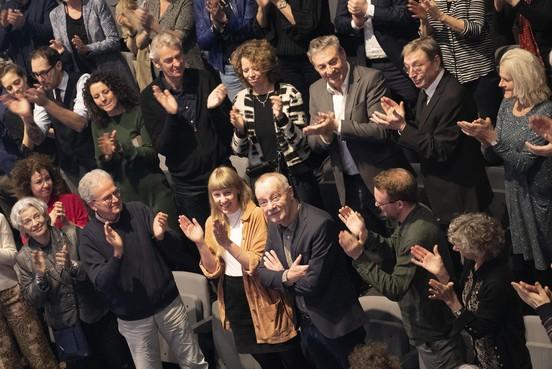 Staande ovatie en Stipendium voor Frans Lommerse in 'zijn' Toneelschuur