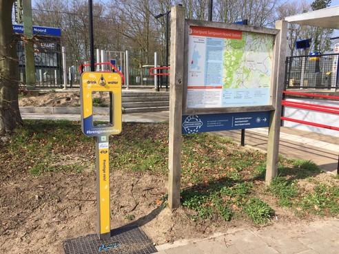 Station Santpoort-Noord krijgt status 'toegangspoort tot de natuur'