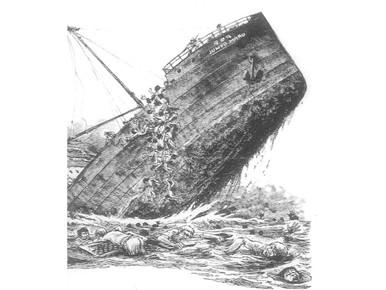 Admiraal Bauer eert mannen Hell ships