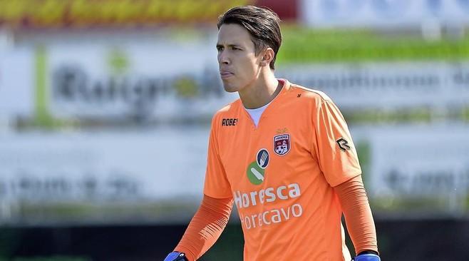 Mike van Vliet is eerste doelman van Noordwijk: 'Het eerste doel is bereikt maar ik ben nog lang niet klaar'