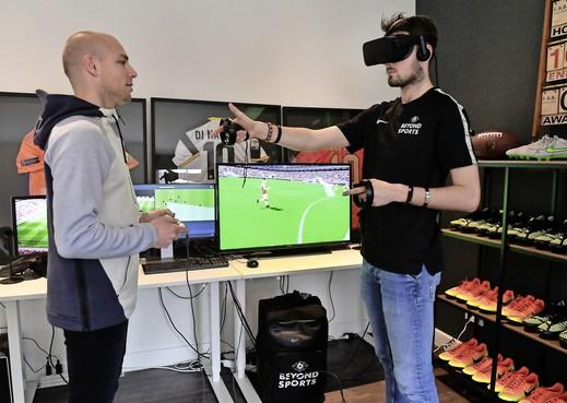 Sportwedstrijden in Virtual Reality: meerwaarde voor spelers en fans [video]