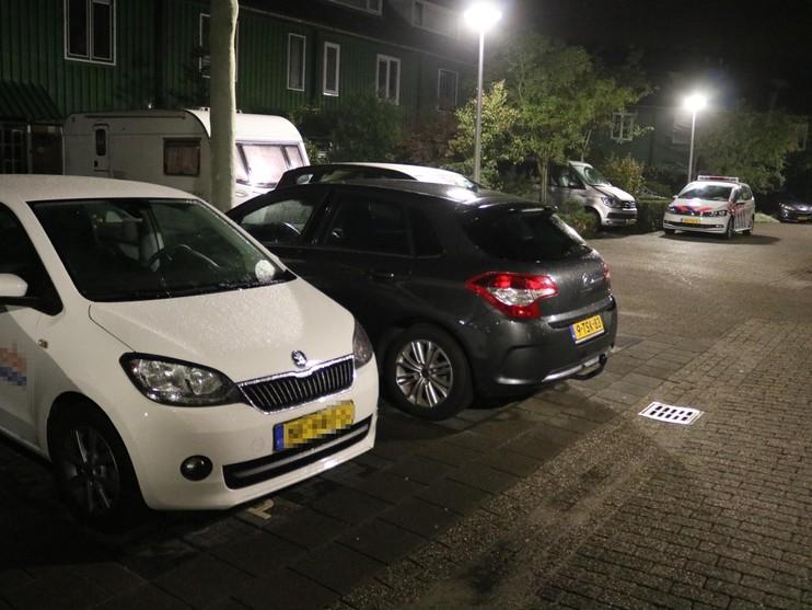 Twee autokrakers opgepakt, brommer in brand in Noordwijkerhout