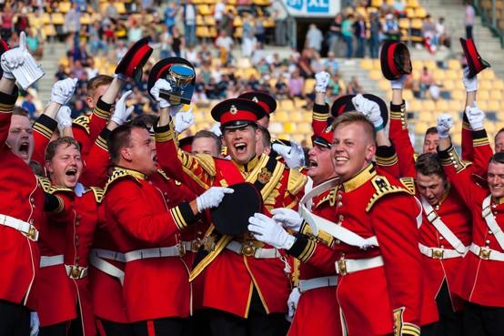 Grote verrassing op het WMC: Flora Band wereldkampioen
