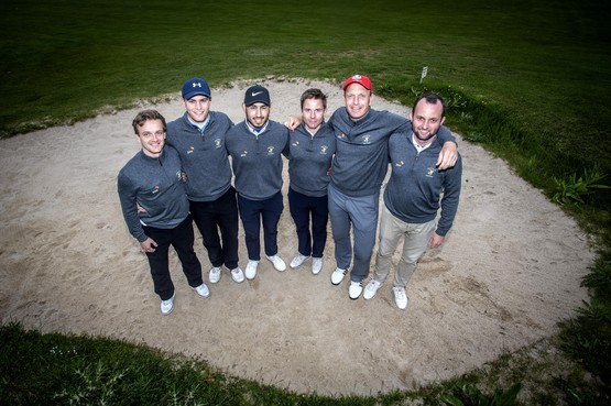 Mannenploeg Houtrak strijdt in Brabant om nationale golftitel
