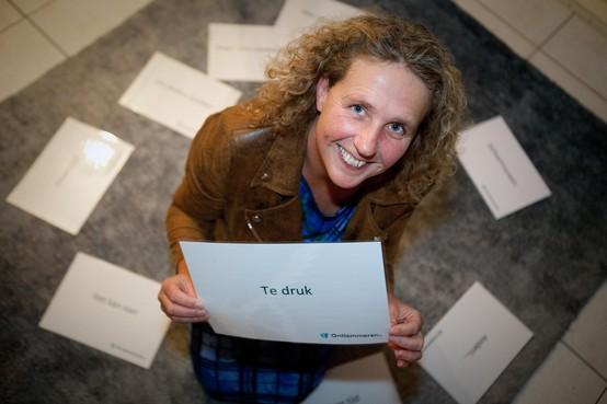 Week van de Werkstress is hard nodig, aldus Velserbroekse werkcoach Irene van der Laan