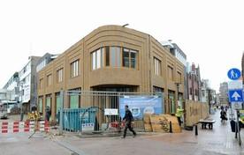 Nieuwbouw Zoetelief op de hoek Keizerstraat- Beatrixstraat.