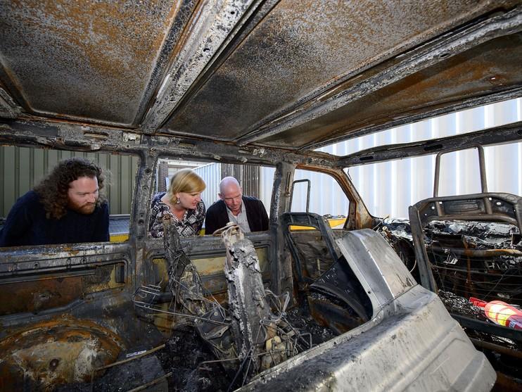 Strijd om schuld na ontploffing busje