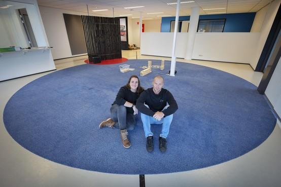 Dirk Zwanenburg van Lotuz ziet met aankoop voormalige showroom Martin Schilder een wens in vervulling gaan: 'We krijgen een snoezelkamer'