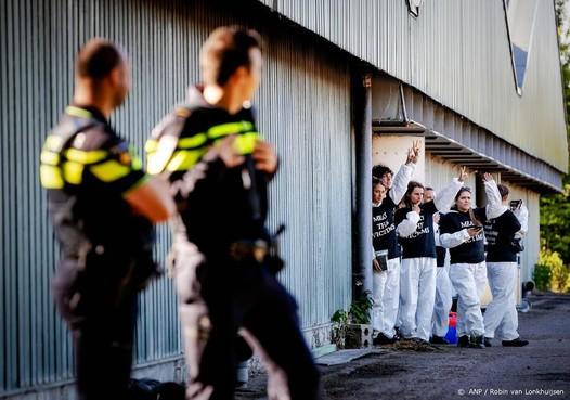 Actie boeren tegen activisten in Overijssel