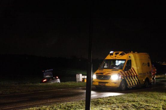 Automobilist uit Bussum overleden aan verwondingen na ongeluk in Naarden