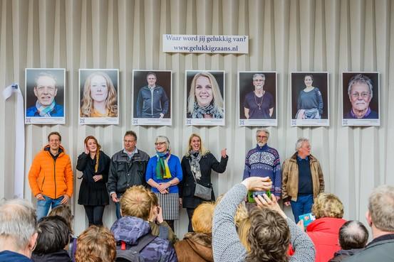 Zeven portretten geven het geluk een gezicht in Koog aan de Zaan [video]