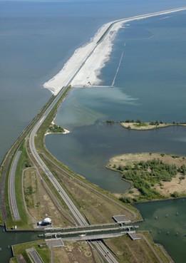 Kamervragen over zandstormen op Houtribdijk Enkhuizen-Lelystad